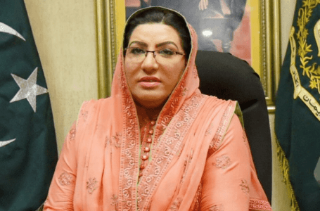 House Leader in Senate Shibli Faraz is Firdous Ashiq Awan Replacement