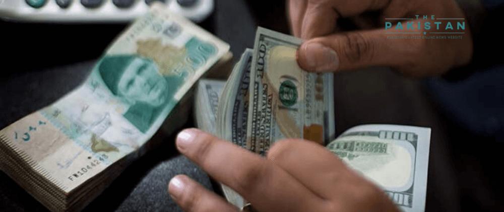 Dollar gains 58 paisas against Pakistani rupee
