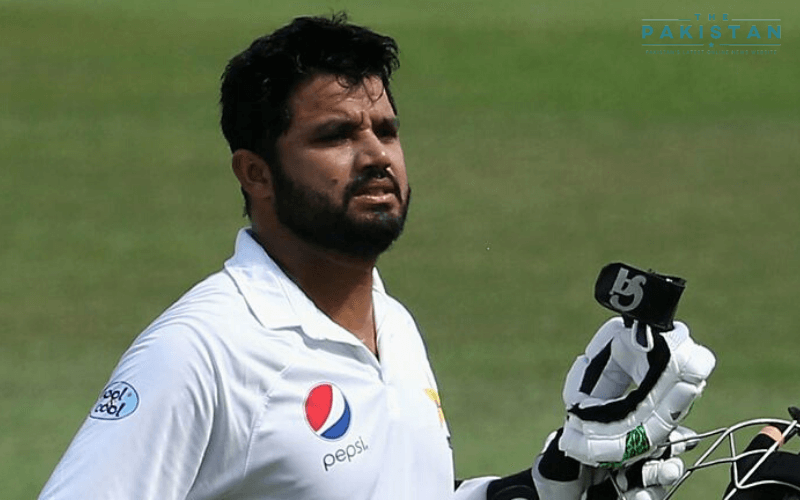 Azhar Ali guides his team in the intra-squad match