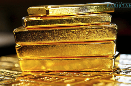 Gold prices reach a record high level in eight years