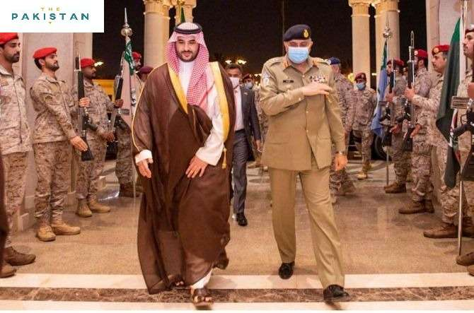 Army Chief Meets Saudi Defence Minister