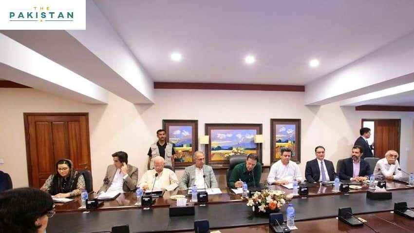 PM Imran Khan chairs CCI meeting