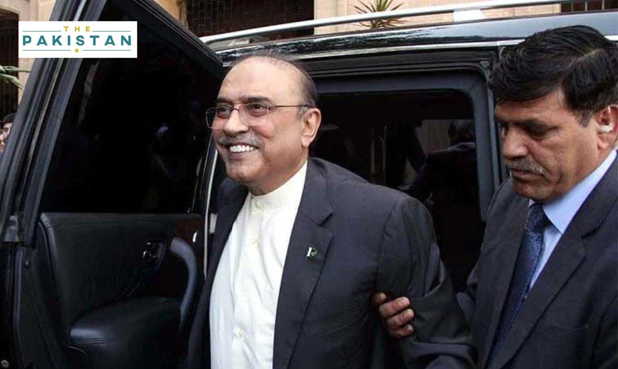 NAB issues warrants for Zardari's arrest
