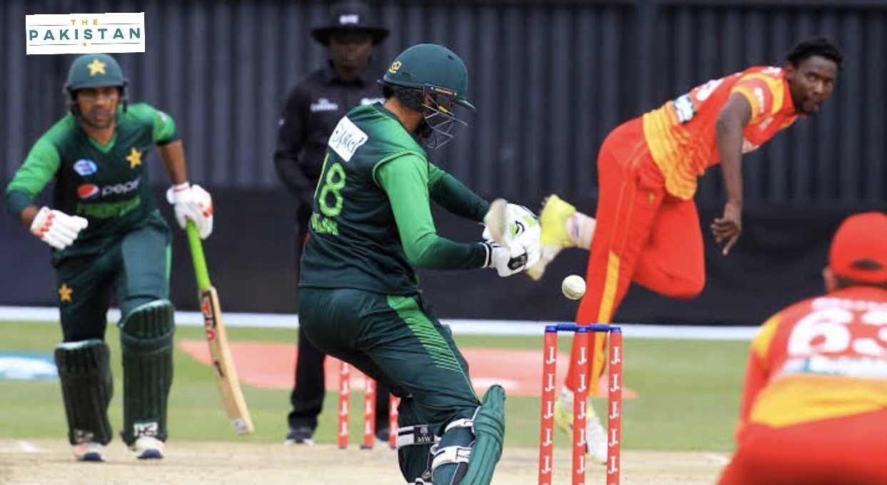 Pakistan set a total 281 for Zimbabwe