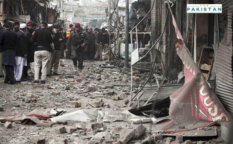 Seven dead, 80 wounded in Peshawar blast