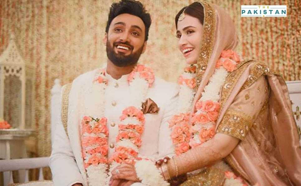Umair Jaswal, Sana Javed get hitched
