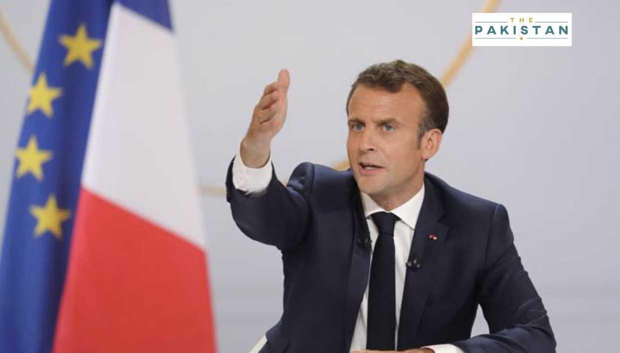 Against Islamic extremism, not Islam, says France's Macron