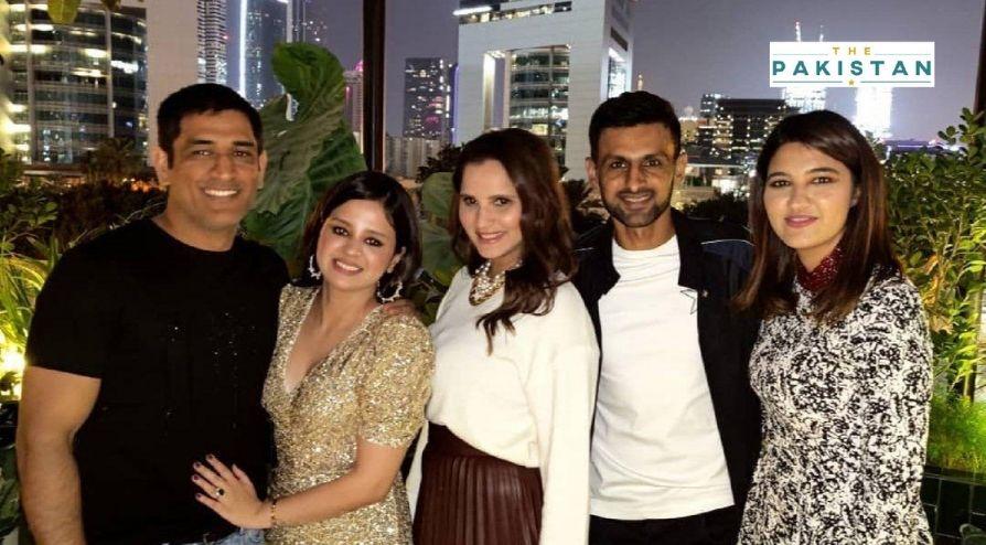 Sania, Shoaib Join Birthday Celebrations Of Dhoni's wife