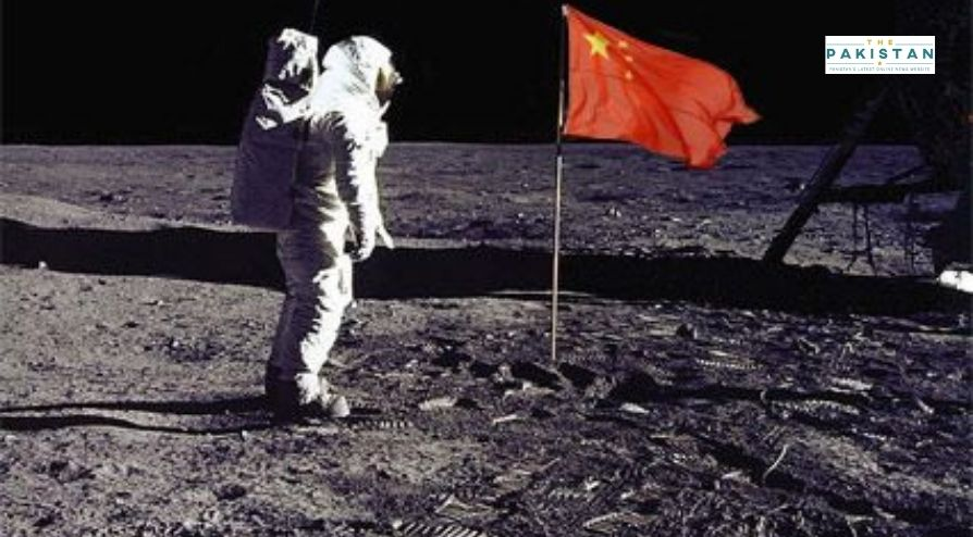 China Unfurls Flag On The Moon