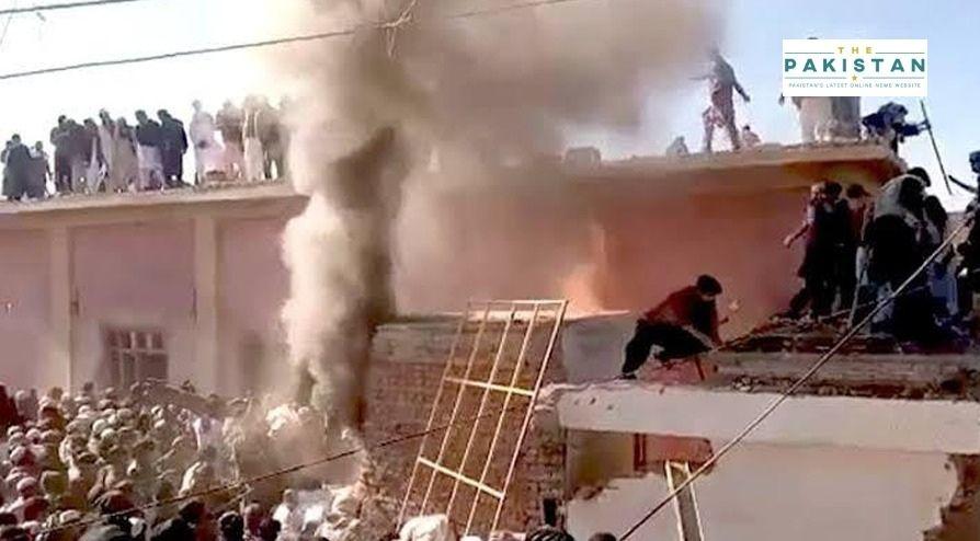 Extremists Burn Down Temple In Karak, KP