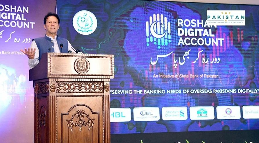 PM Thanks Overseas Pakistanis For Investing In Roshan Digital Accounts