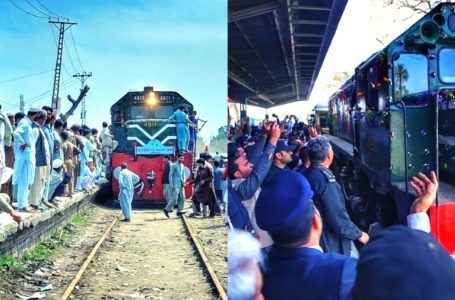 Safari tourist train started in Potohar region in Pakistan to promote tourism