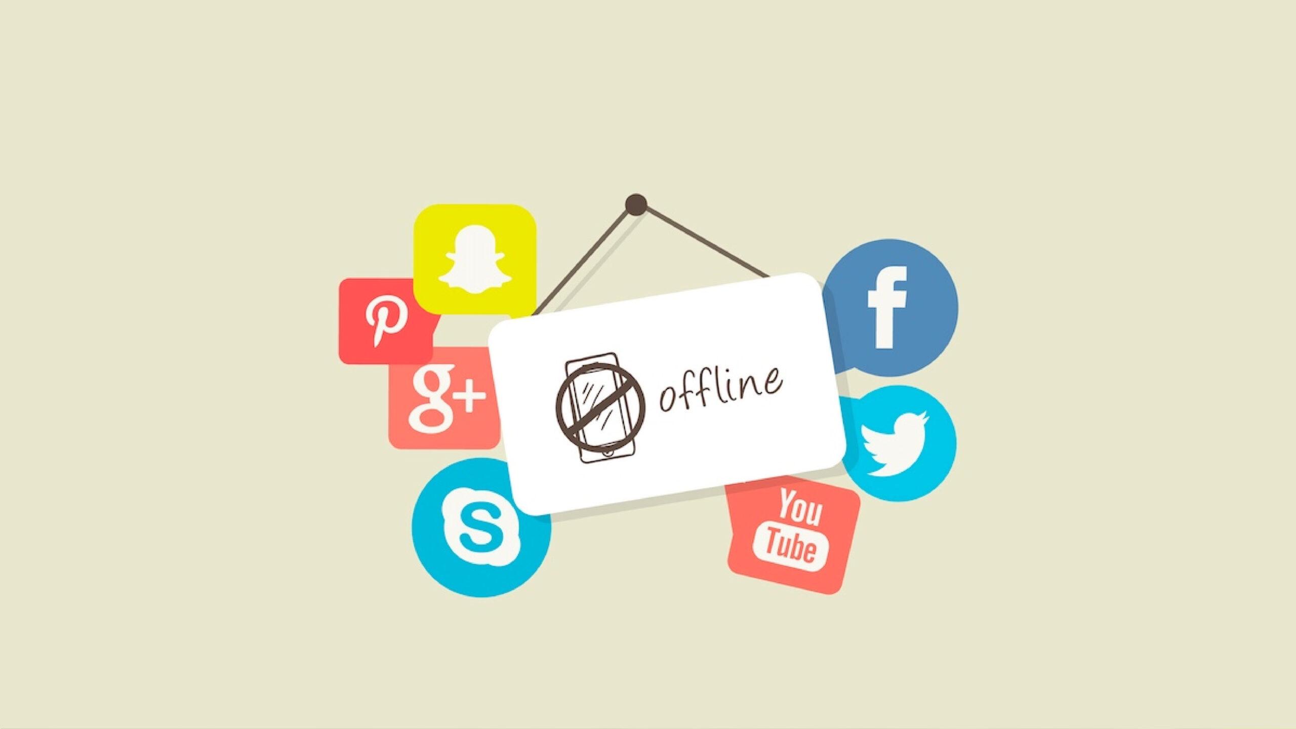 Social media off