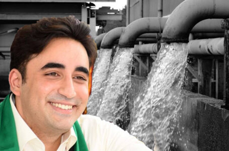 Bilawal lashes out at central govt over cut in Sindh's water supply