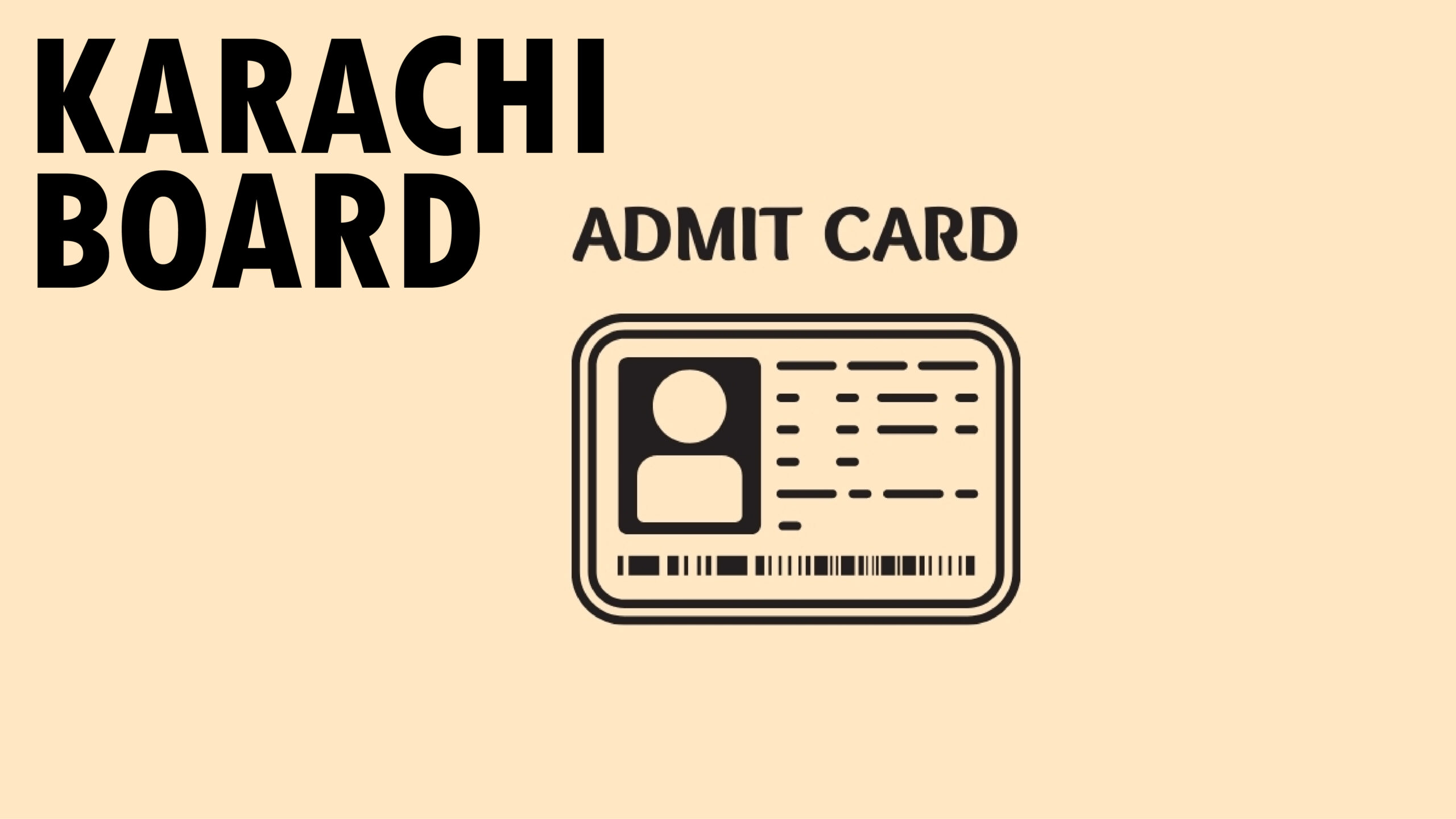 As examination nears, Karachi board releases admit cards for class 9th,10th