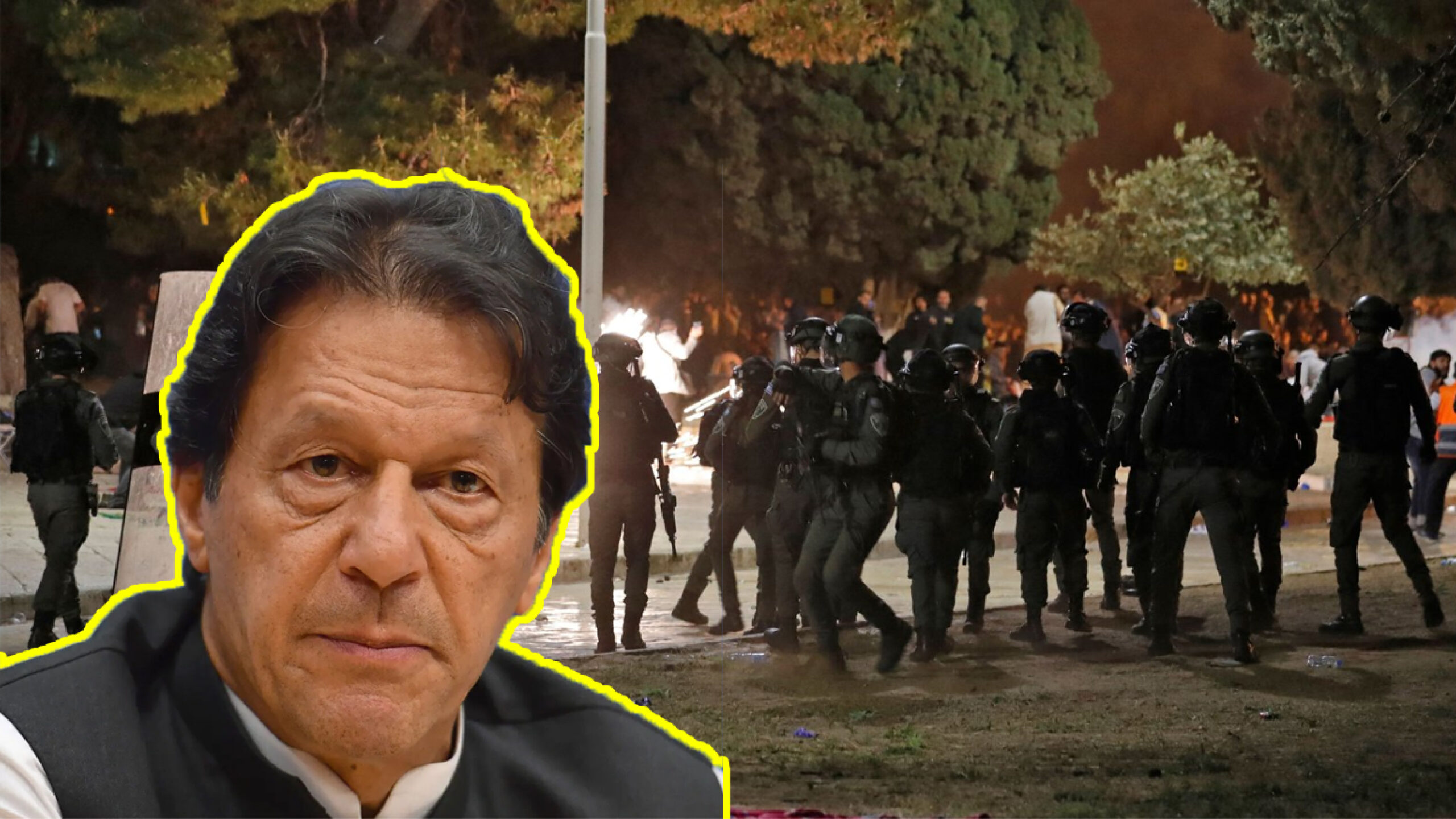 PM Khan condemns grave scenario in Jerusalem, urges world to take action