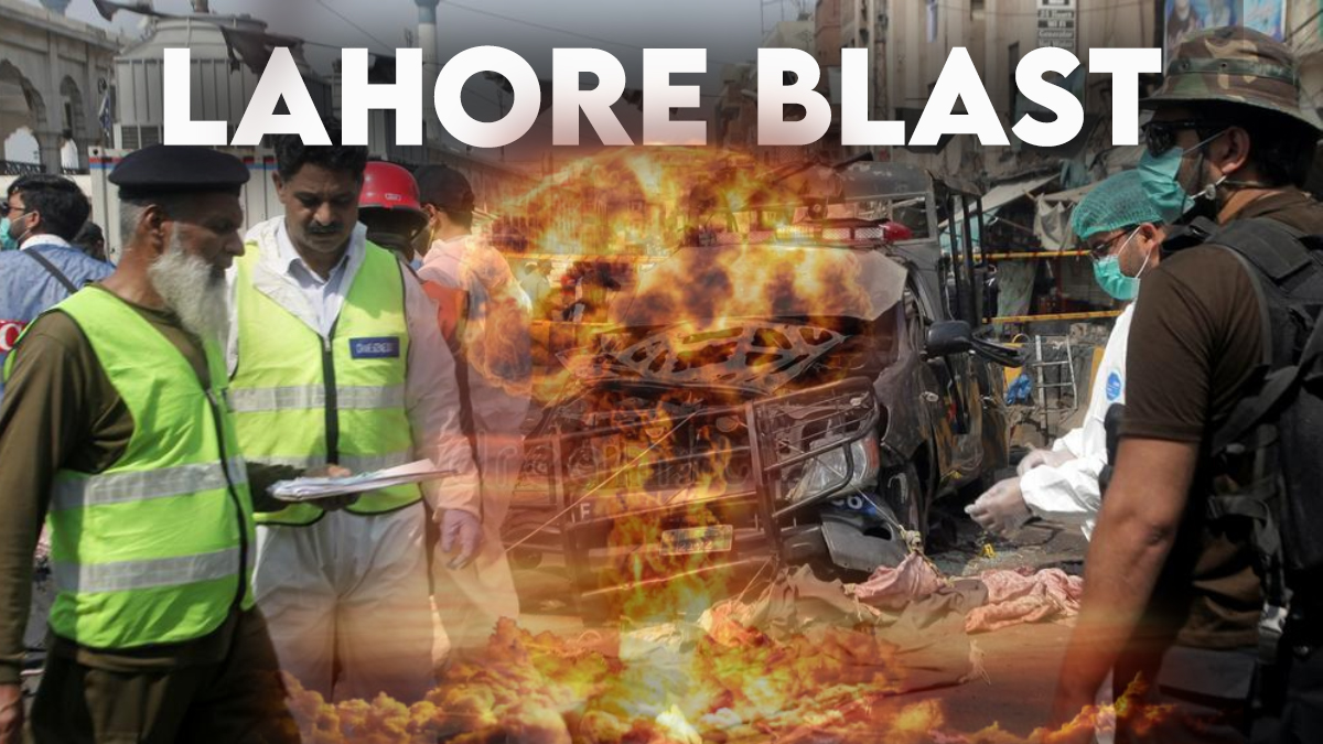 A bomb explosion near Lahore's Johar Town residential area, on Wednesday, resulted in the killing of at least three people and caused hefty damage to surrounding residences and parked vehicles.