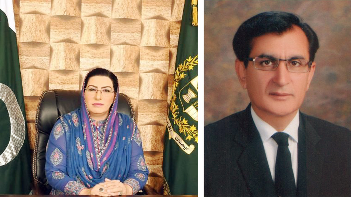 Firdous in hot waters again as a video of her brawl with PPP's Mandokhail goes viral