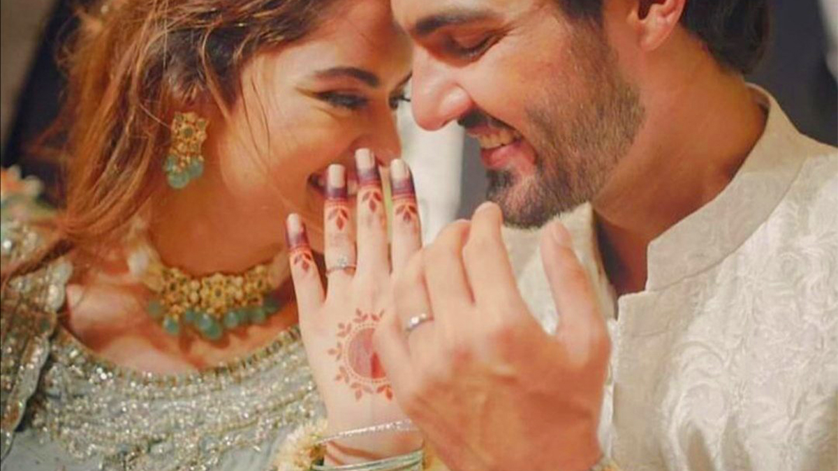 To their fans delight, Ahsan Mohsin, Minal Khan confirm engagement on social media
