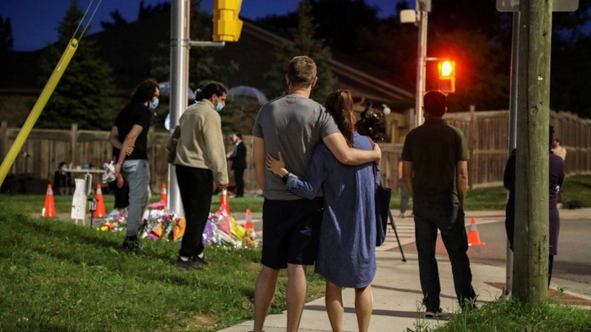 Victims of Canada truck attack laid to rest