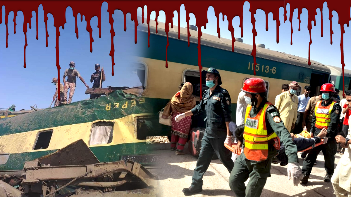 Dozens killed as trains collide in Ghotki