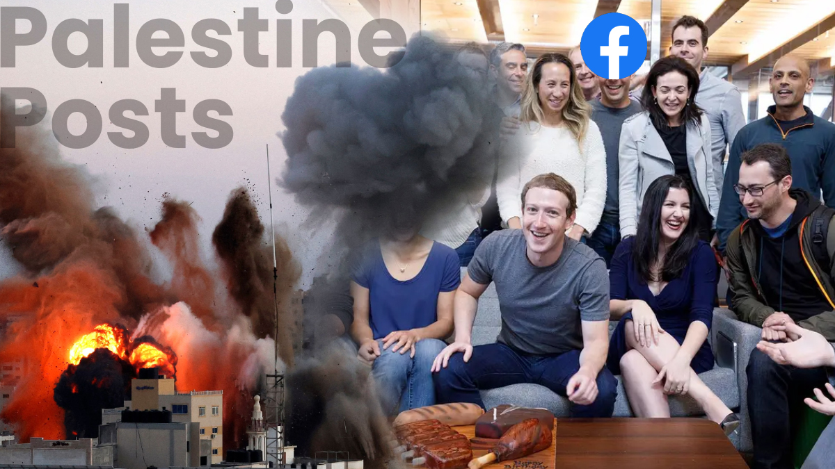 Pro-Palestine groups request the facebook management team to not suppress their voices