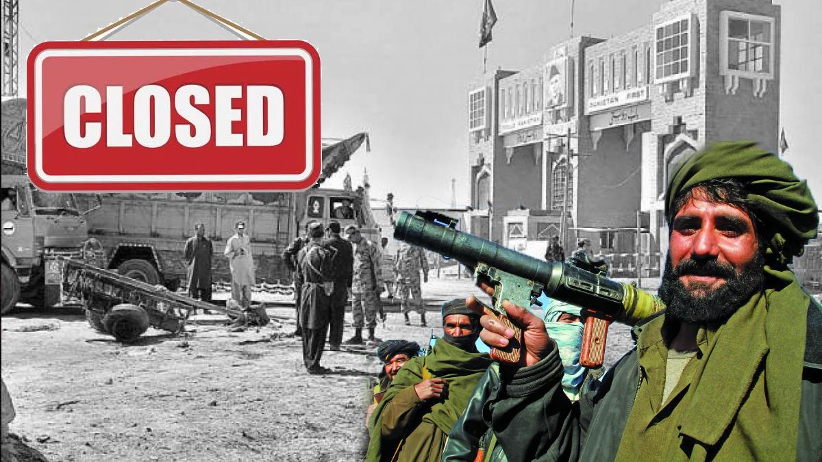 Chaman border closed after Taliban get close