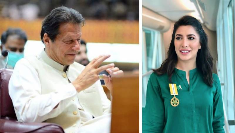 I am definitely the candidate to replace PM Khan: Mehwish Hayat