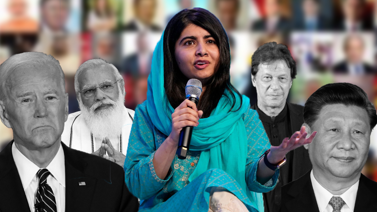 ' Malala asks world leaders to take action on Afghanistan