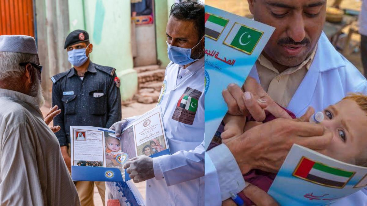 UAE delivers polio vaccines to 102m children in Pakistan